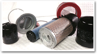 We keep a large stock of air filters, oil filters, air/oil separators, cabinet filters, for all makes and models